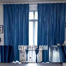 Blue Curtains Bedroom Special Material Vintage Custom Curtains Bedroom Blackout On Sale