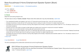 bose home theater refurbished home audio logitech speakers w sub 25 bose acoustimass 6