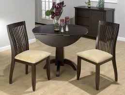 Small Round Kitchen Table For Two by Drop Leaf Tables For Small Spaces Outofhome