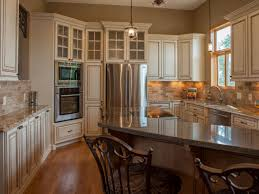 Lighting Above Kitchen Cabinets Tuscan Style Kitchen Amazing Home Decor