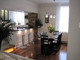 Open Plan Kitchen Living Room Flooring Flat Renovation 2005 Walnut Floor Open Plan Kitchen Diner Living