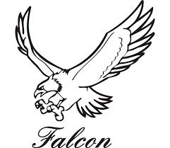 falcon outline cliparts free download clip art free clip art