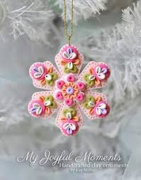 handcrafted polymer clay ornament polymer clay ornaments clay