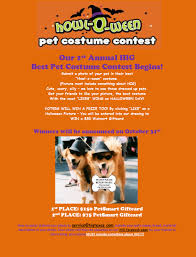 hig 1st annual howl o ween pet costume contest