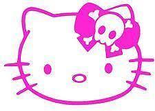 kitty car decal ebay