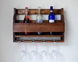 Wood Wine Cabinet Wine Racks Etsy