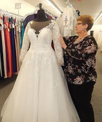 wedding dress store store owner aims to make shopping for wedding dress a special