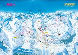 Piste Maps For Italian Ski by Livigno Maps Skipass Livigno