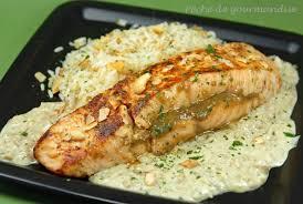 cuisiner le saumon pavé de saumon au curry vert et noix de cajou péché de gourmandise