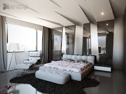 Modern Bedroom With Great Ceiling Design  Impressive Bedroom - Great bedrooms designs