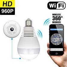 Mini Outdoor Lights Owlview Wireless Light Bulb Ip Wi Fi Fisheye