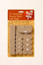 Felt Pads For Chairs 27 Heavy Duty Felt Pads Protects Flooring Amazon Co Uk Kitchen