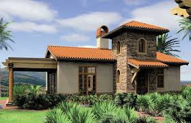 Mediterranean Style Floor Plans Mediterranean Guest Home Plan Or Vacation Retreat 69124am
