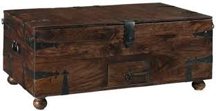 Rustic Chest Coffee Table Rustic Trunk Coffee Table Facil Furniture