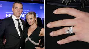 reese witherspoon engagement ring blinged out engagement rings by the numbers entertainment