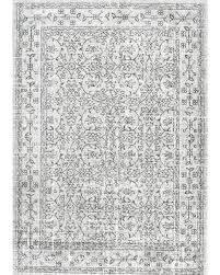 Nuloom Area Rugs Sale Sterling Gray Solid Loomed Area Rug 5 X7 5 Nuloom