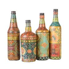Decorative Glass Vases 18 Best Coloured Glass Bottles And Vases Images On Pinterest