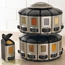 kitchen spice storage ideas exceptional silver rounded swivel spice rack ideas as modern