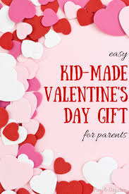 kid valentines craft for kids to make their parents