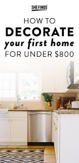 decorating first home how to decorate your first home for under 800 home apartment