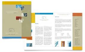 free brochure template for word enwurf csat co
