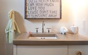 Concrete Bathroom Sink Concrete Bathroom Sink Bathroom Contemporary With Modern Cabin