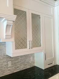 New Decorative Glass Inserts For Kitchen Cabinet Doors Decorating