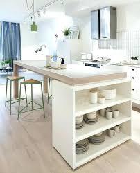 table ilot cuisine haute table ilot cuisine haute cuisine ilot central design 12 avec noir