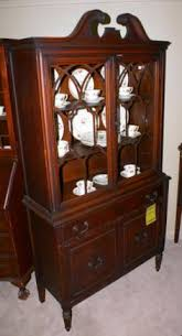 mahogany china cabinet furniture antique china cabinets dark mahogany bow front china cabinet