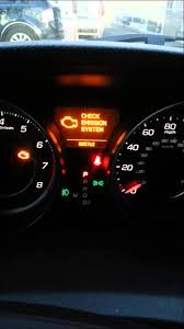 acura mdx tpms light emission system check service light youtube