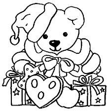 Coloriage Animaux Noël en Ligne Gratuit à imprimer