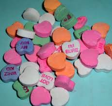 sweetheart candy sayings every february we all read those candy hearts that