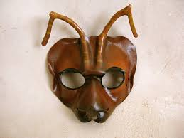 halloween costumes with masquerade masks ant leather mask or child sizes masquerade mask