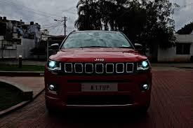 modified jeep modified jeep compass led headlights indian autos blog