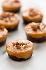 paleo thanksgiving desserts no bake pecan pumpkin pie bites