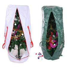 artificial decorated tree storage bag home design and