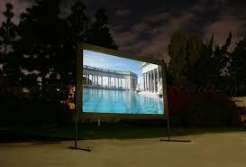 How To Make A Backyard Movie Screen by News Elite Screens
