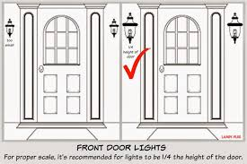Bedroom Wall Sconces Height Focal Point Styling Exterior Home Improvements With Black