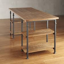 Modern Rustic Desk Industrial Desk Search Station Co Working Space
