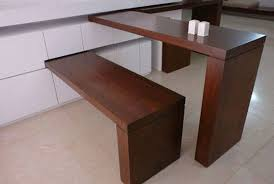 wall attached dining table 81 with wall attached dining table