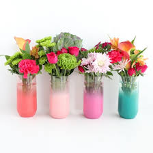 Flower Vase Crafts Diy Blendo Flower Vases Craftgawker
