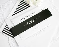 wedding invitations black and white black and white striped wedding invitations stephenanuno