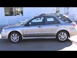 blue subaru outback 2007 2007 subaru impreza outback sport w special edition station wagon in