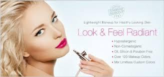airbrush makeup professional foundation deluxe dinair airbrush makeup kit personal pro medium