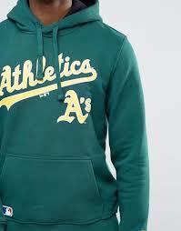 new era oakland athletics hoodie green men cheapest online price