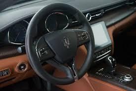maserati steering wheel 2018 maserati quattroporte s granlusso maserati dealer in san