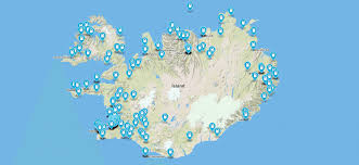 iceland map gas stations in iceland map with prices and tips