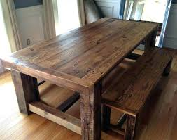 large rustic dining table u2013 mitventures co
