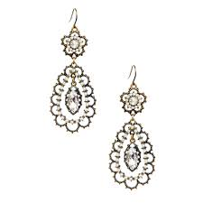 filigree earrings pearl floral filigree earrings