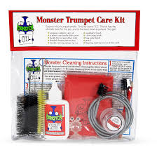 amazon com monster trumpet care and cleaning kit musical instruments